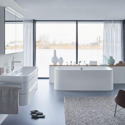 Vane, sprchové kúty a vaničky, podlahové žľaby Duravit