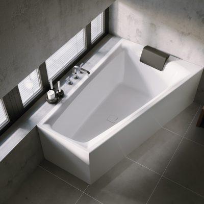 Vane, sprchové kúty a vaničky, podlahové žľaby Riho